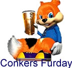 Conker's Bad Fur Day!